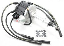 Black HEI Distributor Coil 8.5mm Spark Plug Wires 1956-1974 AMC Jeep 232 258 L6
