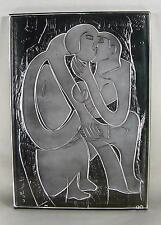 Hap Grieshaber 1909/la coppia/SCULTURA IN VETRO/Rosenthal sign. con certificato