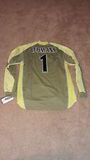 2003/04 Nike Arsenal Soccer Jersey Goalkeeper Jens Lehmann #1 Green Mens XL