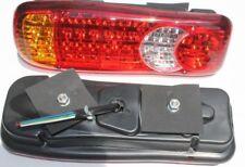 2 x LED Pear 46 Led Rückleuchten Rücklichter LKW Anhänger Indikator 12 V Auto