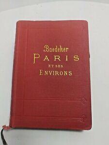 Paris et ses Environs  Guides Baedeker 1907