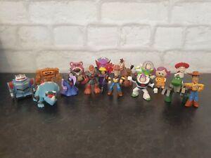 Disney pixar Toy Story Mini figures x15 Figures woody buzz rex bullseye trixie
