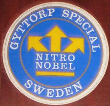 """Adesivi Anni ' 80 """" NITRO NOBEL SWEDEN  """""""