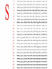 Removable Custom Personalized Sticker Decal Name Text Wording Lettering 10~160cm