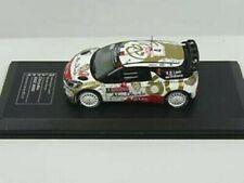 CITROEN DS3 WRC #4 Loeb Elena Rallye Monte Carlo 2015 Total SP DCC IXO SP 1:43