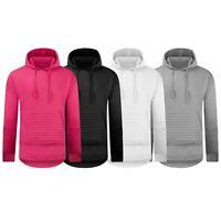 New Men Biker Hoodie Sweater Pullover Pocket Long Sleeve Fleece Hooded Shirt