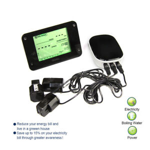 Wireless Electricity Energy Monitor Three Phases Smart Meter