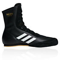 adidas Mens Box Hog X Special Boxing Shoes Black Sports Lightweight