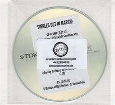 (HE472) Co-Pilgrim / Falling Stacks / ASx, split sampler - 2014 DJ CD