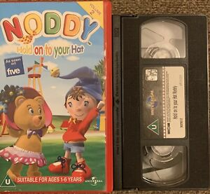 NODDY, HOLD ON TO YOUR HAT, VOL 2-ANIMATED-VHS VIDEO.