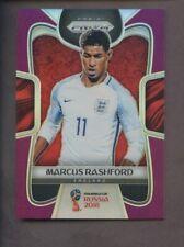2018 Panini Purple Prizm FIFA World Cup Soccer Marcus Rashford England 15/99