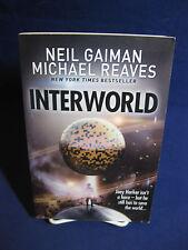 Interworld Paper Back, Neil Gaiman & Michael Reaves, UK edition 2013