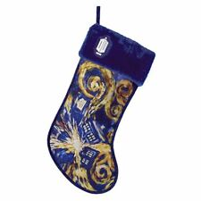 "DOCTOR WHO Exploding TARDIS Van Gogh Christmas Stocking, 19"", by Kurt Adler"
