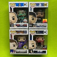Funko Pop! Comedians Set Signed - Fluffy, Jeff Dunham & Jo Koy - Autographs