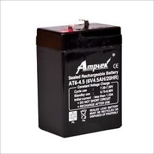 Amptek 6V 4.5Ah maintenance Free Rechargable Battery Emergency Light/Toy/UPS