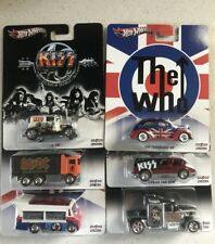 HOT WHEELS 2013 POP CULTURE AC/DC LIVE NATION CASE F 6 CAR SET