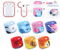 BTS BT21 Official Airpod Hard Case Skin Cover K-POP Character MD Authentic Goods