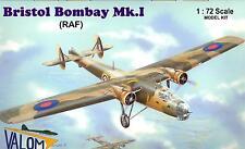 Valom Models 1/72 BRISTOL BOMBAY Mk.I Royal Air Force Bomber