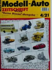 Modell Auto Zeitschrift MAZ 2021/4 Messeausgabe April