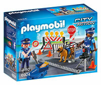 6924 Playmobil Police Roadblock City Action Suitable for ages 4 years and up