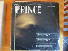 """Prince Controversy 2 Track USA Promo 12"""" Very Rare"""