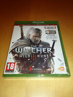 THE WITCHER 3: Wild Hunt + Bonus Content **New & Sealed** Xbox One S / X