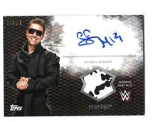 WWE The Miz 2015 Topps Undisputed Black Autograph Relic Card SN 46 of 50