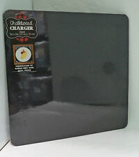"New Sealed Black Message Chalkboard Unframed 13""X13"" Wall Standing Crafts"