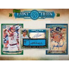 2020 Topps Gypsy Queen Baseball Factory Sealed Hobby Box In Stock Free Shipping