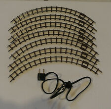 More details for 7 x jouef egger bahn curved track  + power lead & connector.