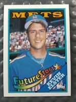 Topps 1988 Kevin Elster 8 Baseball Card Future Stars Insert New York Mets