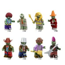 Various Plants vs Zombies Zombie Characters Minifigs Lego MOC