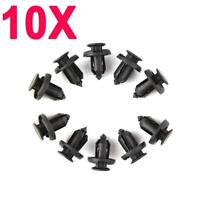 10X For Honda Push Fit Plastic Rivet Fastener Clip fit Bumpers Side Skirts Grill