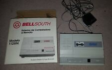 BELLSOUTH MICRO CASSETTE FULL FEATURE REMOTE ANSWERING SYSTEM 1128N - IN BOX