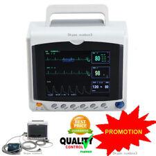 "CALDO! ICU CCU Monitor paziente ECG, NIBP, Spo2, PR, 8.4"" Screen"
