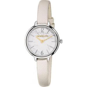 Orologio Donna MORELLATO PETRA R0151140513 Pelle Bianco Gold Dorato NEW FIV