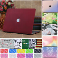 Frosted Matt Hard Case +Keyboard Cover for Macbook Air Pro 11 12 13 15 & Retina