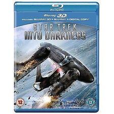 STAR TREK INTO DARKNESS - BLU RAY 3D + BLU RAY + UV - SEALED UK STOCK
