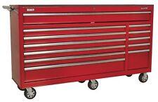 Sealey rollcab 12 tiroir avec glissières roulement à billes lourds-Red ap6612