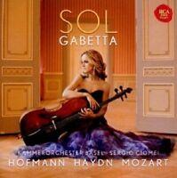 SOL GABETTA/KAMMERORCHESTER BASEL - HOFMANN HAYDN MOZART-CELLOKONZERTE  CD NEU