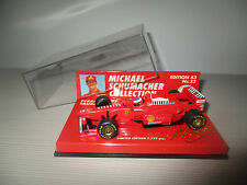 FERRARI 1997 LAUNCH VERSION MICHAEL SCHUMACHER EDITION 43  MINICHAMPS SCALA 1:43