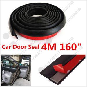 Waterproof 4M Z-shape Window Door Rubber Seal Strip Hollow Car Weatherstrip Seal