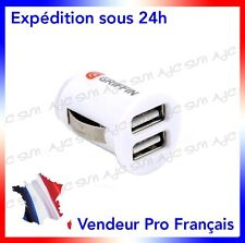 Chargeur Allume Cigare Double Port Usb Griffin Pour Samsung Galaxy Teos