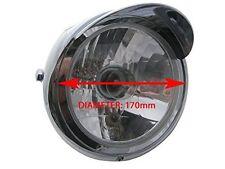 Custom Chrome Motorcycle Motorbike 12V 35W Headlight For Honda CG 125 CG125