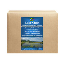 Blanket Weed String Algae Treatment for Lakes Large Ponds HYDRA LAKE CLEAR 25KG