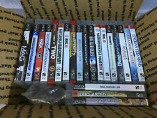 Sony Playstation 3, 21 game lot; Uncharted, Uncharted 3, White Knight Chronicles