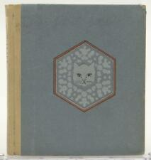 Snowflake Our Kitty's Story 1919 Maria Phillips Perry Illus Helen Irene Fitton