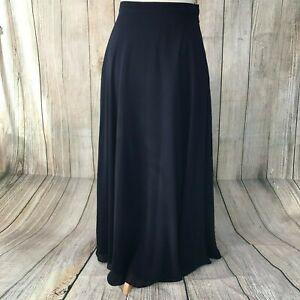 Fabulous Navy PETER MARTIN Maxi Skirt Size 12 VGC