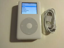 APPLE  IPOD  CLASSIC  4TH GEN. WHITE  60GB...NEW  HARD DRIVE...