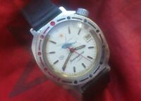Wristwatch Vostok 2414 Komandirskie USSR vintage Russian watch